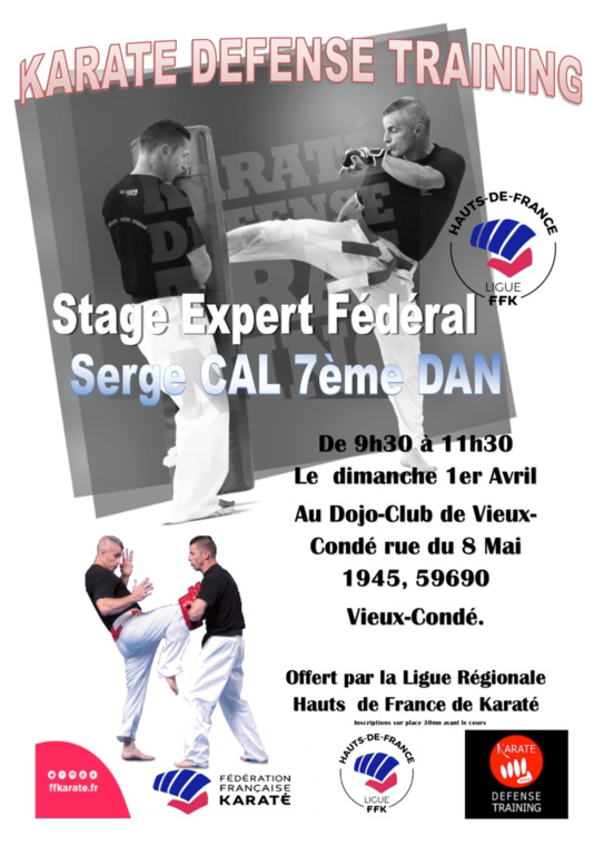 Stage Karate training